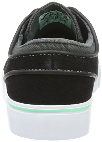 Nike Zoom Stefan Janoski, Scarpe da Ginnastica Uomo Nero (Black/Green Glow/Anthracite/White)