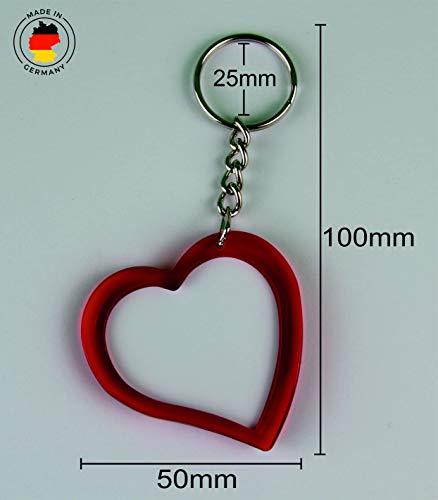 """Exklusive Geschenkidee: Herzschlüsselanhänger """"I Love Celle"""", eine tolle Geschenkidee die von Herzen kommt – Rucksackanhänger- Liebesanhänger- Weihnachts Geschenktipp - 4"""