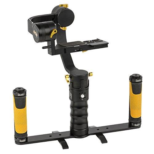 ds1 beholder IKAN DS1-DGH-KIT DS1 Beholder Gimbal und Dual Grip Handle Kit für DSLR und Mirrorless Kamera schwarz