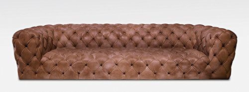 Chester Moonn Luxus Leder Sofa