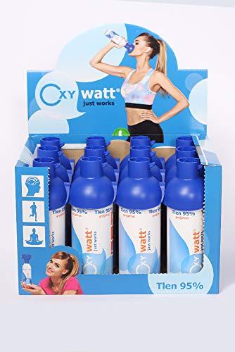OXYwatt Unisex Adult Grapefruit 12 pcs x 5L-Sauerstoff zu 95% in Einer Dose