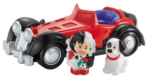 Disney - Fisher-Price - Little People - Cruella de Vil - with...