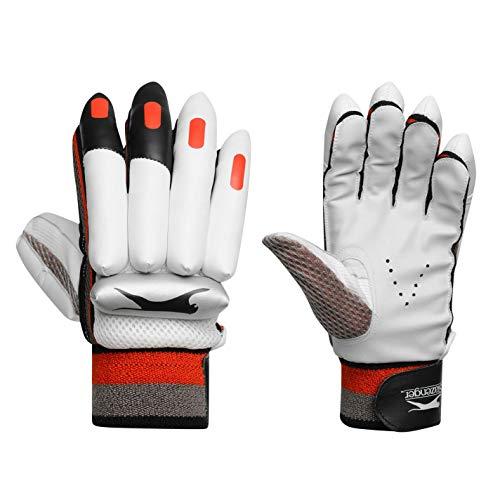 Slazenger Kinder Cricket-Handschuhe Ignite, Weiß, Gr. S/R