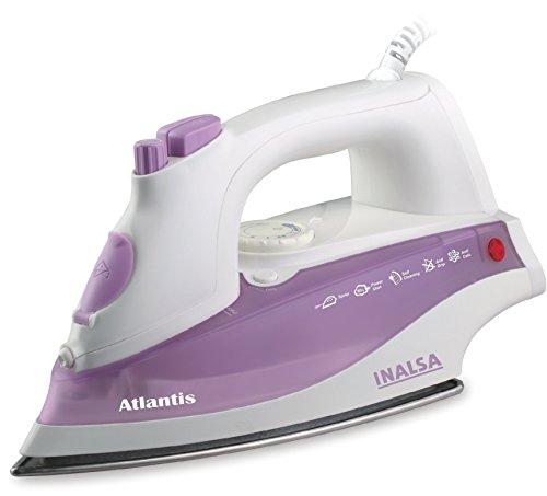 Inalsa Atlantis 1400-Watt Steam Iron (White and Purple)