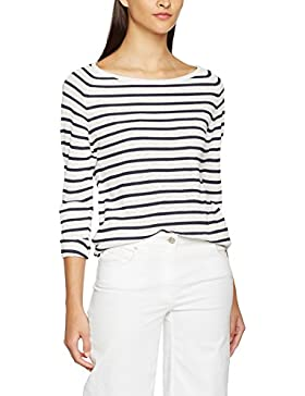 SELECTED FEMME Damen Langarmshirt Sfnive Stripe Ls Knit Pullover Noos