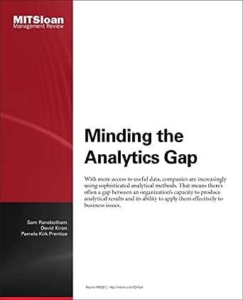 se upp för bästsäljande exklusiva erbjudanden Minding the Analytics Gap - Journal Article eBook: Sam Ransbotham ...