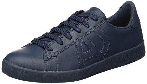 Armani Jeans 935565cc500, Sneakers basses homme Bleu (BIANCO 00134)