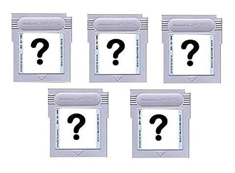 Gameboy Spiele Überraschungs-Set 5 Stück