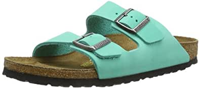 birkenstock arizona nubuck damen fashion sandalen gr n mintgr n gr e 35 2 uk amazon. Black Bedroom Furniture Sets. Home Design Ideas