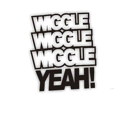 Sea view Stickers Wiggle Wiggle Wiggle Ja Auto Aufkleber (Wiggle-aufkleber)