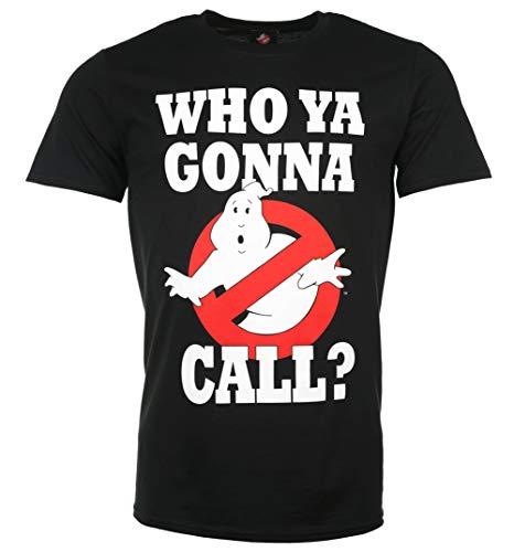 TruffleShuffle Men's Official Ghostbusters T Shirt