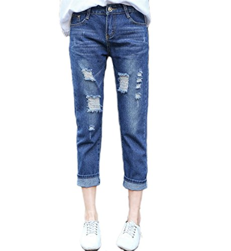 Klorim Damen Jeanshose, blau, TMAS0485