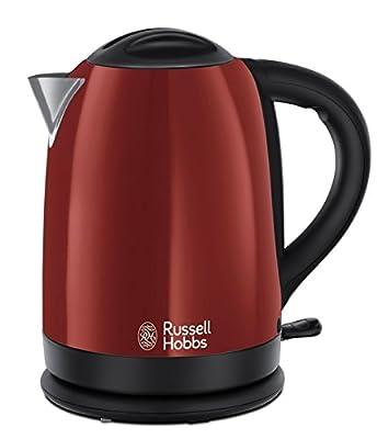 Russell Hobbs - 20092 - Bouilloire sans fil Dorchester 1,7L 3000 W - Rouge