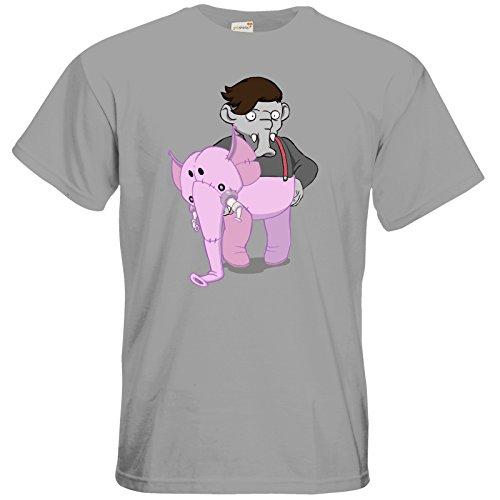 getshirts - Daedalic Official Merchandise - T-Shirt - Deponia Kugo pacific grey