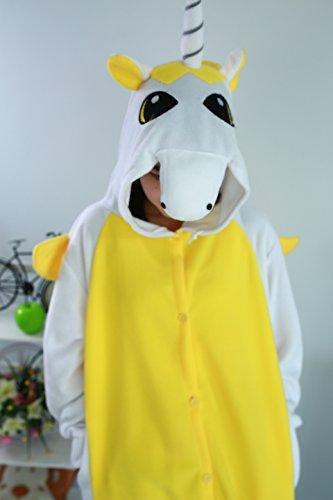 Imagen de pijamas animales unicornio mujer invierno cosplay traje disfraz adulto alternativa