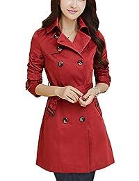 buy online 36ae4 981de Amazon.it: cappotto rosso donna: Abbigliamento