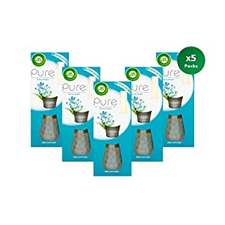 Air Wick Air Freshener Reed Diffuser, Pure Spring Delight, 25 ml, Pack of 5