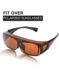 8fed541d93 Amazon.co.uk  Brown - Sunglasses   Eyewear   Accessories  Clothing