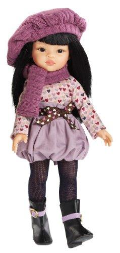 Paola Reina - Muñeca Liu vestida de invierno, de plástico, 32 cm (04599)