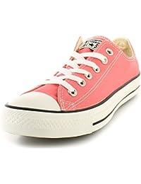 05125fa7bba3d7 Converse NUEVO de Mujer para mujer color rosa Lona Chuck Taylor Zapatillas  Deportivas De Cordones