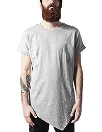 Urban Classics Herren T-Shirt Asymetric Long Tee