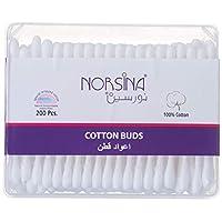 Norsina Cleanic Ear Cotton Buds, 200 Pcs