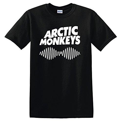 Arctic Monkeys T Shirt Rock Fanshirt (Versch. Farben und Grossen) (Large, Schwarz) (Alex Schwarz T-shirt)