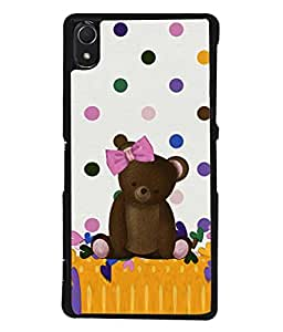 PrintVisa Designer Back Case Cover for Sony Xperia Z3 :: Sony Xperia Z3 Dual D6603 :: Sony Xperia Z3 D6633 (Child Toy Play Design Decoration Trendy Baby)