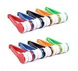 WYXIN 10 Stück Mini Sonnenbrille Brillen Microfiber Brille Reiniger Pinsel Reinigungswerkzeug, Zufällige Farbe