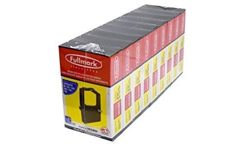Fullmark N639BK Seamless Nylon Ribbon Compatible Replacement for Okidata ML 182/320/390/720/790, Black, 9-Pack