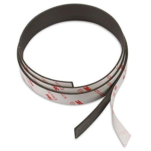 NEODYM Power-Magnetband 1000 x 15 x 1,5 mm Rückseite selbstklebend mit 3M Kleber, stark magnetisch + zuschneidbar, 4x stärker als normales Magnetband