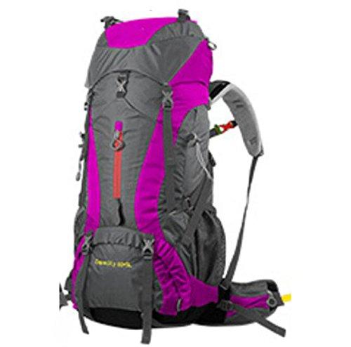 Wandern Outdoor Reisen Lässige Daypack Hochleistungs-Taschen Rucksack Rucksack,ArmyGreen RoseRed