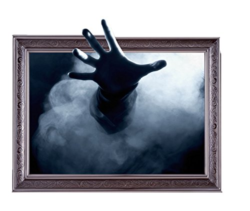niceEshop TM Kreativ Deutlich Selbstklebend 3D Geist Hand Wandsticker
