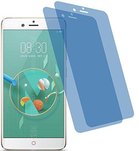 4ProTec 2X Crystal Clear klar Schutzfolie für ZTE Nubia Z17 Mini Premium Bildschirmschutzfolie Displayschutzfolie Schutzhülle Bildschirmschutz Bildschirmfolie Folie