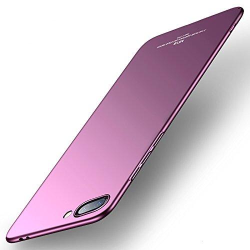 Bubunix Honor 10 Hülle, Hua Wei Honor 10 Case, Schutz Schutzhülle Anti-Kratzer Elegant Stoßfest Hart PC Skin Rückdeckel Glatte Rückseite Bumper Handyhülle für Huawei Honor 10 (Purple)