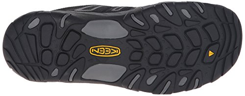 Keen Oakridge, Chaussures de Randonnée Basses Homme Noir (Black / Gargoyle)