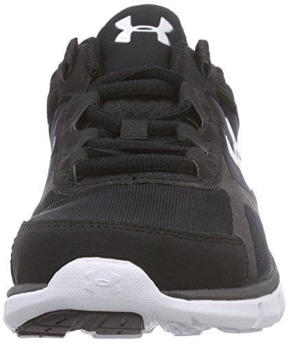 Under Armour Ua Micro G Velocity Rn, Chaussures de course homme Noir - Schwarz (BLK/CHC/WHT 1)