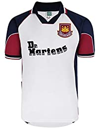 Official Retro West Ham United 1999 Away Retro Football Shirt 100% POLYESTER eba7c40e1