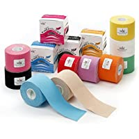 10x NASARA Kinesiologie Tape kinesiologische Tapes * 10 Farben im Set * 5m x 5cm preisvergleich bei billige-tabletten.eu