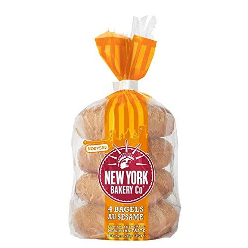 new york bakery Bagels au sésame - ( Prix Unitaire ) - Envoi Rapide Et Soignée