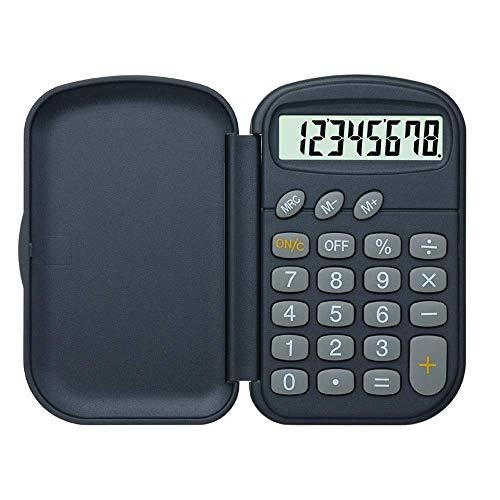 HYBUKDP Standard-Taschenrechner Grundlegender Rechner Student Science Funktionsrechner Test Zweizeilige Anzeige Statistische Variable Student Calculator Office Desktop Calculator