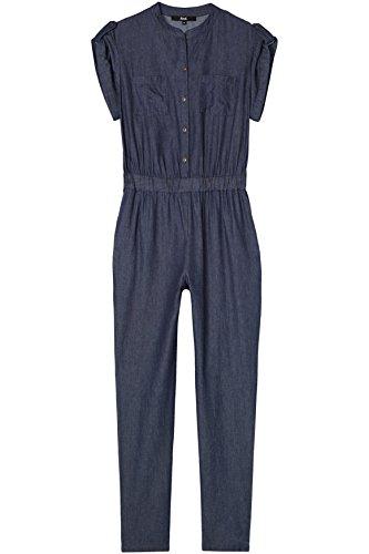 Damen Jumpsuit Demin, Blau (Blue) - 4