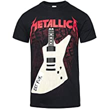 Camiseta EET de manga corta de Metallica (Negro)