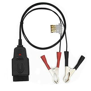 Swiftswan Autobatterie ersetzen Werkzeug Power-Off-Speichergerät OBD Auto-Steckverbinder-Tool (Farbe: Schwarz-Rot)