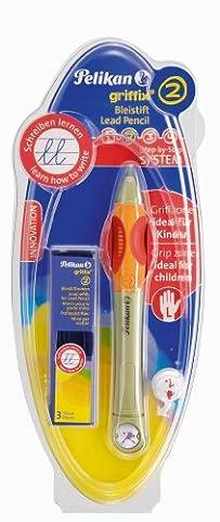 Pelikan Griffix Bleistift zum Nachfüllen für Linkshänder grün