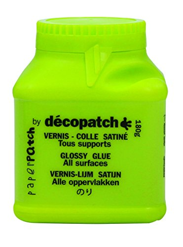 Décopatch PP150CO Klebstofflack Paperpatch (satiniert, 180g)