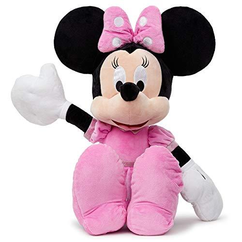 Simba 6315874871 - Disney Plüschfigur, Minnie, 80 cm - Puppen Minnie Maus