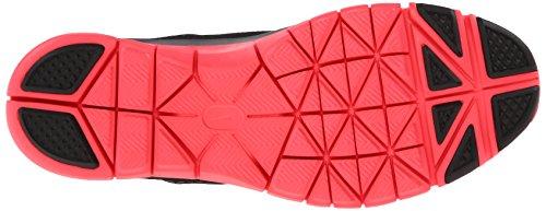 Nike Wmns Free 5.0 Tr Fit 4 629496 Damen Sportschuhe Schwarz (Black/Light Magenta-Hyper Punch-Cool Grey)