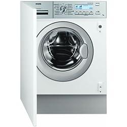 AEG L82470BI Einbau-Waschmaschine / A+++ / 1400 UpM / 7 kg / weiß / Knitterschutz / Aquastop