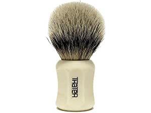 Thater 4125/1 Finest Silvertip Shaving Brush White by Thater